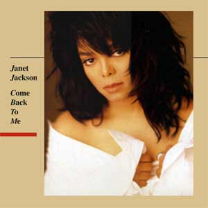 Janet Jackson - Come Back To Me - single cover