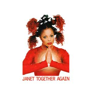 Janet Jackson - Together Again - single cover