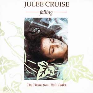 Julee Cruise - Falling - single cover - twin peaks