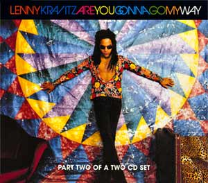 Lenny Kravitz - Are You Gonna Go My Way - single cover