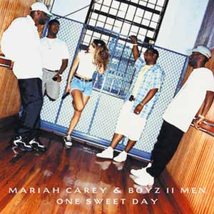 Mariah Carey & Boyz II Men - One Sweet Day - single cover