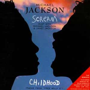 Michael Jackson and Janet Jackson - Scream - Childhood - Official Music Vide