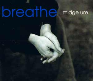 Midge Ure - Breathe - single cover