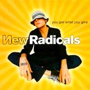 New Radicals - You Get What You Give - single cover