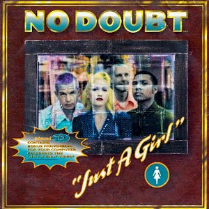 No Doubt - Just A Girl - single cover