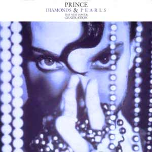 Prince & The New Power Generation - Diamonds And Pearls - single cover