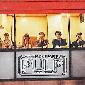 Pulp - Common People - single cover