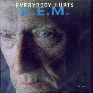 R.E.M. - Everybody Hurts - single cover