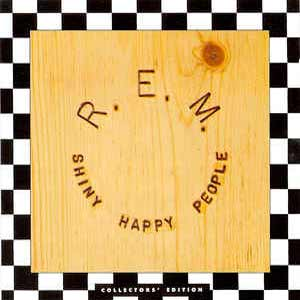 R.E.M. - Shiny Happy People - single cover