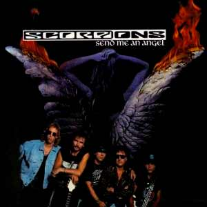 Scorpions - Send Me An Angel - single cover