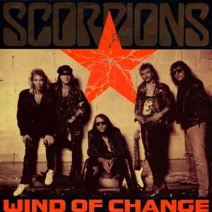Scorpions - Wind Of Change - single cover