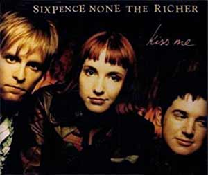 Sixpence None The Richer - Kiss Me - single cover