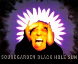 Soundgarden - Black Hole Sun - single cover