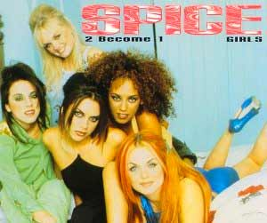 Spice Girls - 2 Become 1 - single cover