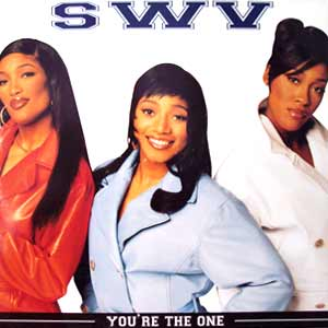 SWV - You're The One - single cover