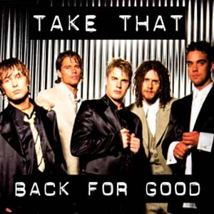 Take That - Back for Good - single cover
