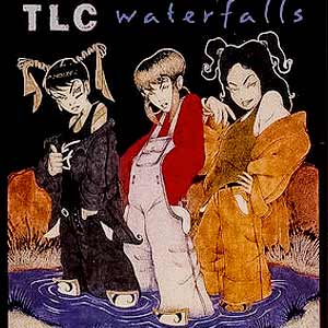 TLC - Waterfalls - single cover