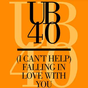 UB40 - (I Can't Help) Falling In Love With You - single cover