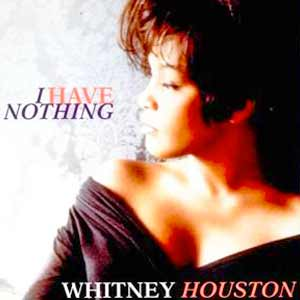 Whitney Houston - I Have Nothing - single cover