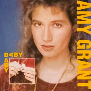 Amy Grant - Baby, Baby - single cover