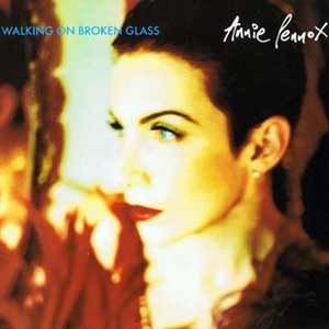 Annie Lennox - Walking on Broken Glass - single cover