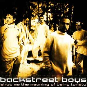 Backstreet Boys - Show Me The Meaning Of Being Lonely - single cover