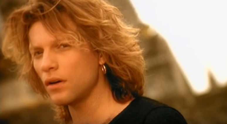 Bon Jovi - This Ain't A Love Song - Official Music Video