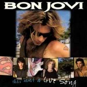 Bon Jovi - This Ain't A Love Song - single cover