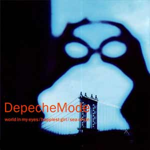 Depeche Mode - World In My Eyes - single cover