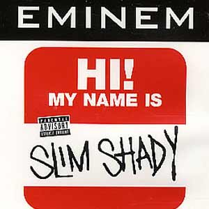 Eminem - My Name Is - single cover