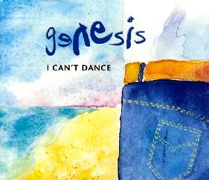 Genesis - I Can't Dance - single cover