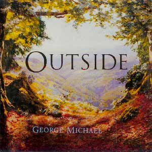 George Michael - Outside - single cover