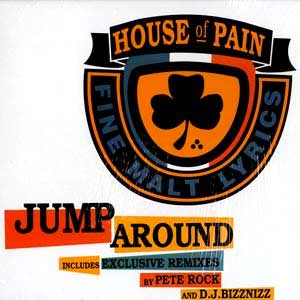 House Of Pain - Jump Around - single cover