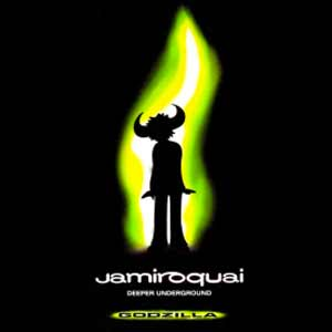 Jamiroquai - Deeper Underground - single cover