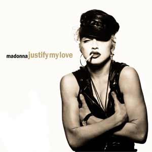 Madonna - Justify My Love - single cover