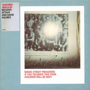 Manic Street Preachers - If You Tolerate This Your Children Will Be Next - single cover