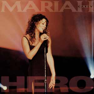 Mariah Carey - Hero - single cover