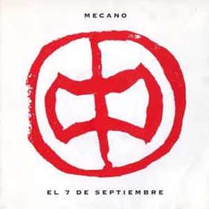 Mecano - El 7 de Septiembre - single cover