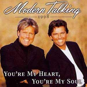 Modern Talking - You're My Heart, You're My Soul '98 - single cover