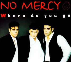 No Mercy - Where Do You Go - single cover
