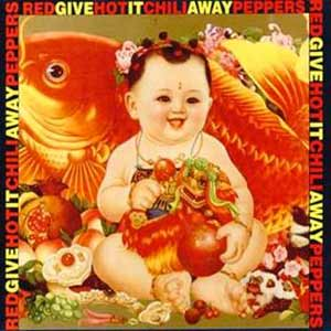 Red Hot Chili Peppers - Give It Away - single cover
