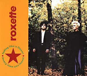 Roxette - Fading Like A Flower (Every Time You Leave) - single cover