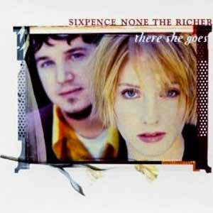 Sixpence None The Richer - There She Goes - single cover