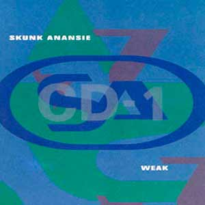 Skunk Anansie - Weak - single cover