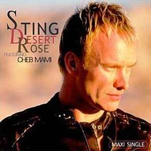 Sting - Desert Rose - single cover