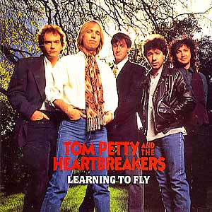 Tom Petty and the Heartbreakers - Learning To Fly - single cover