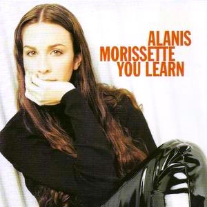 Alanis Morissette - You Learn - single cover