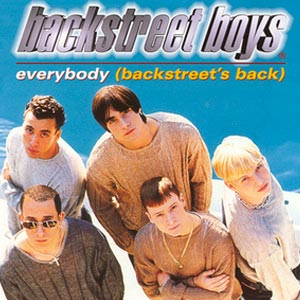 Backstreet Boys - Everybody (Backstreet's Back) - single cover