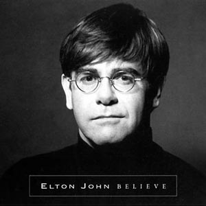Elton John - Believe - single cover