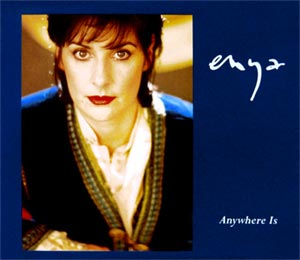 Enya - Anywhere Is - single cover